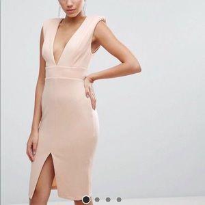 Asos blush dress